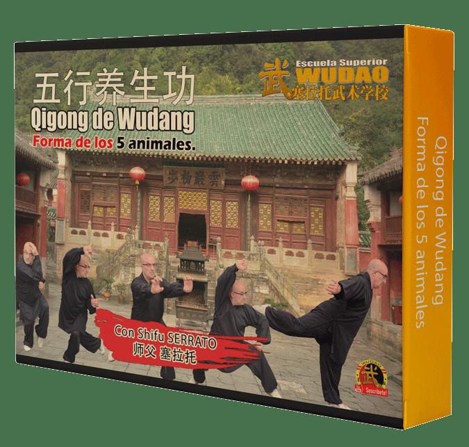Curso de Chikung de los 5 animales de Wudang (Wudang wu qin xi 武当五禽戏.)