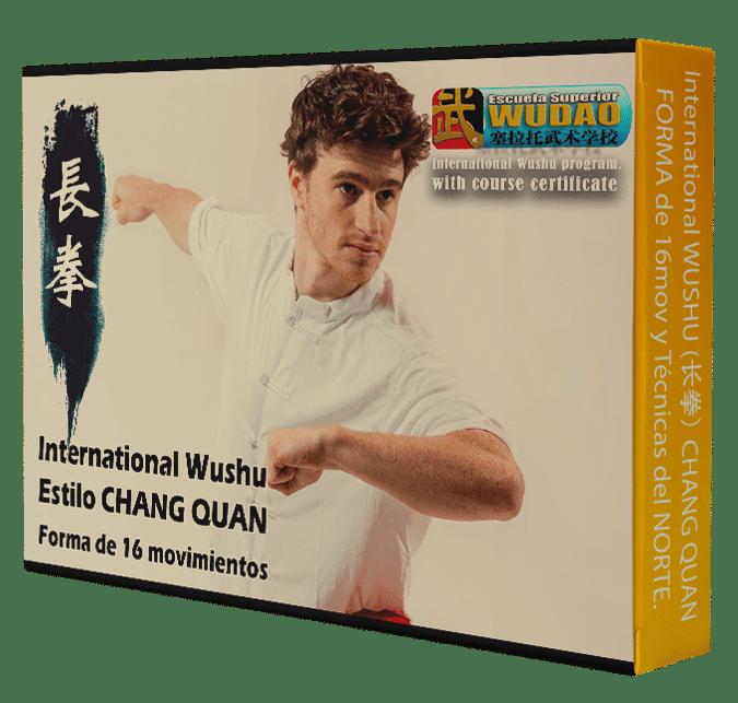 Curso de CHANG QUAN Internacional (长拳) Boxeo Largo de 16 mov.
