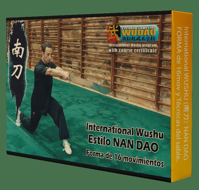 Curso de NAN DAO Internacional (南刀) Sable del Sur 16 mov.