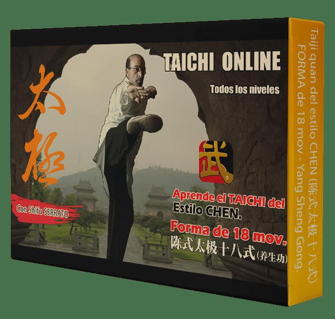 Curso de TAICHI CHEN de 18 mov. 陈式 太极十八式 (养生功)